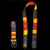 GS02C : Fair-trade hand-made Amazon guitar strap - coral snake model