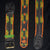 FAIR -TRADE HAND-MADE GUITAR STRAP - JUNGLE PATTERN - WOVEN BY PERUVIAN AMAZON ARTISAN