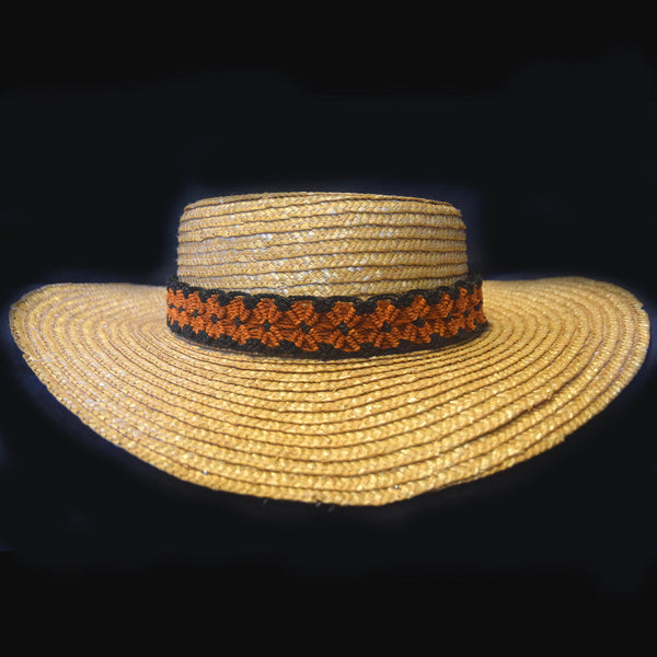 Fair-trade Hand-made Hat band - Aguaje machaco snake - HB14A