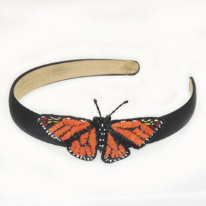 Woven butterfly headbands