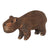 Balsa Wood Wildlife Christmas tree ornaments - 18 pack