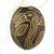 Heron Bird Calabash Christmas tree ornament and hand rattle