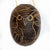 Owl Bird Calabash Christmas tree ornament and hand rattle