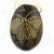 Butterfly Insect Calabash Christmas tree ornament and hand rattle