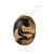 Monkey Mammal Calabash Christmas tree ornament and hand rattle