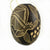 Bat Mammal Calabash Christmas tree ornament and hand rattle