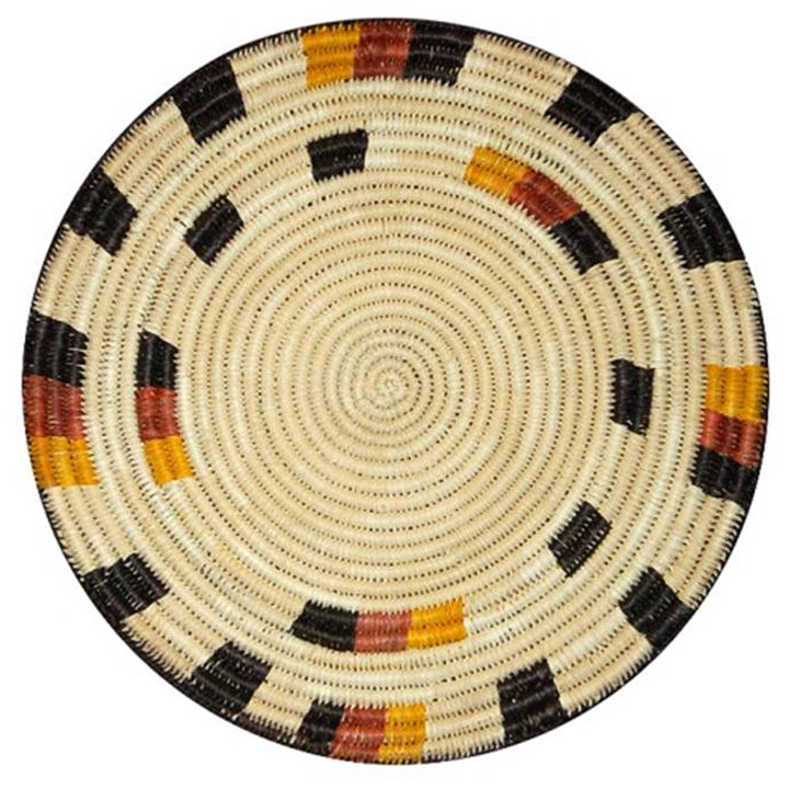 Hand woven hot pad (trivet) and center piece assortment (12 pack)