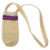 Fair-Trade Bottle Carrier/Wine Tote with purple and pink bands (WCA353)