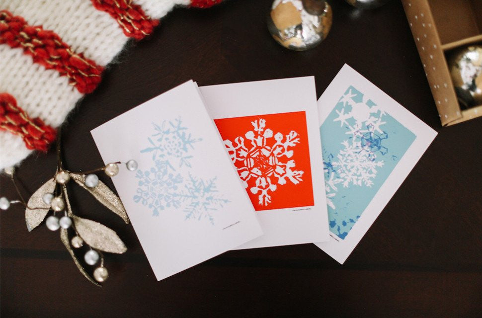 Fine Art Christmas & Holiday Cards (Blank) | Falling Leaf Card Co.