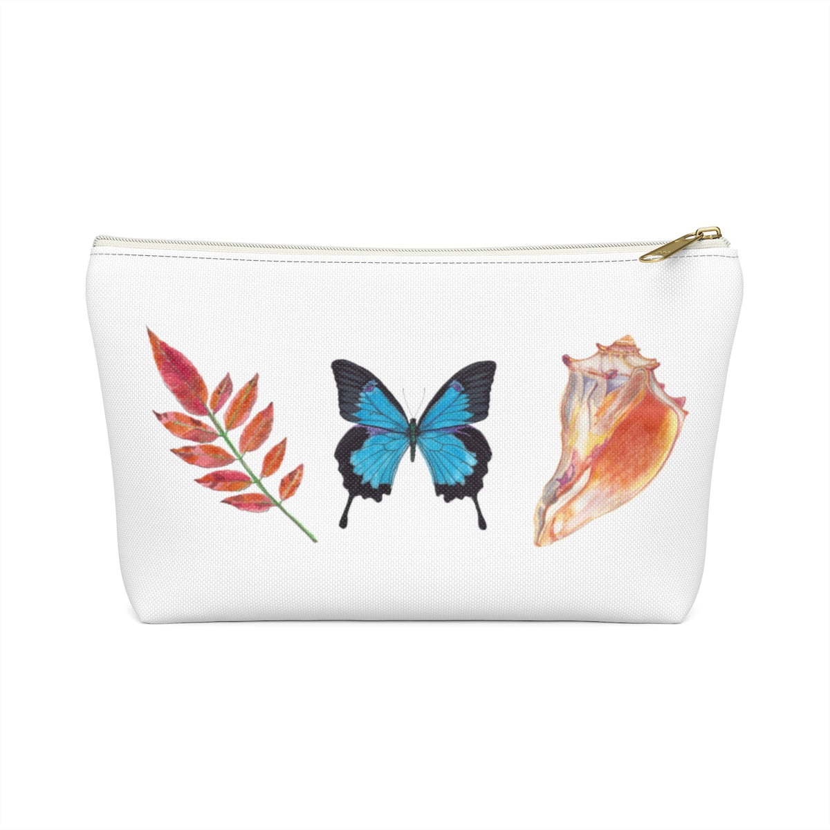 Graphic Design Accessory Pouch - Falling Leaf Card Co.