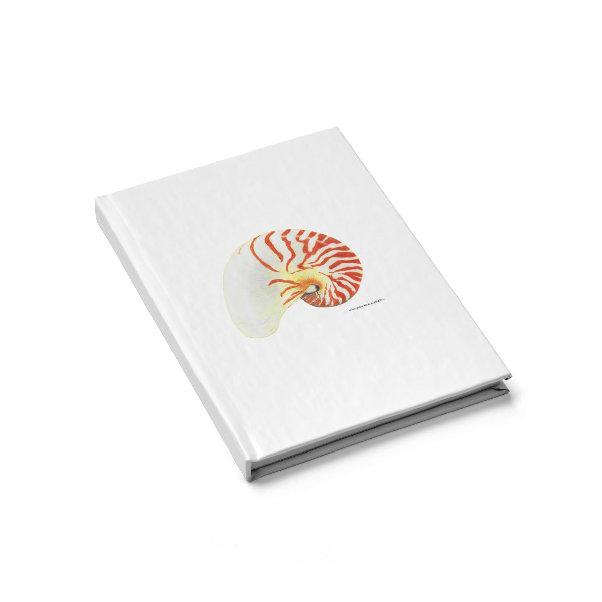 Journal - Nautilus Shell - Falling Leaf Card Co.