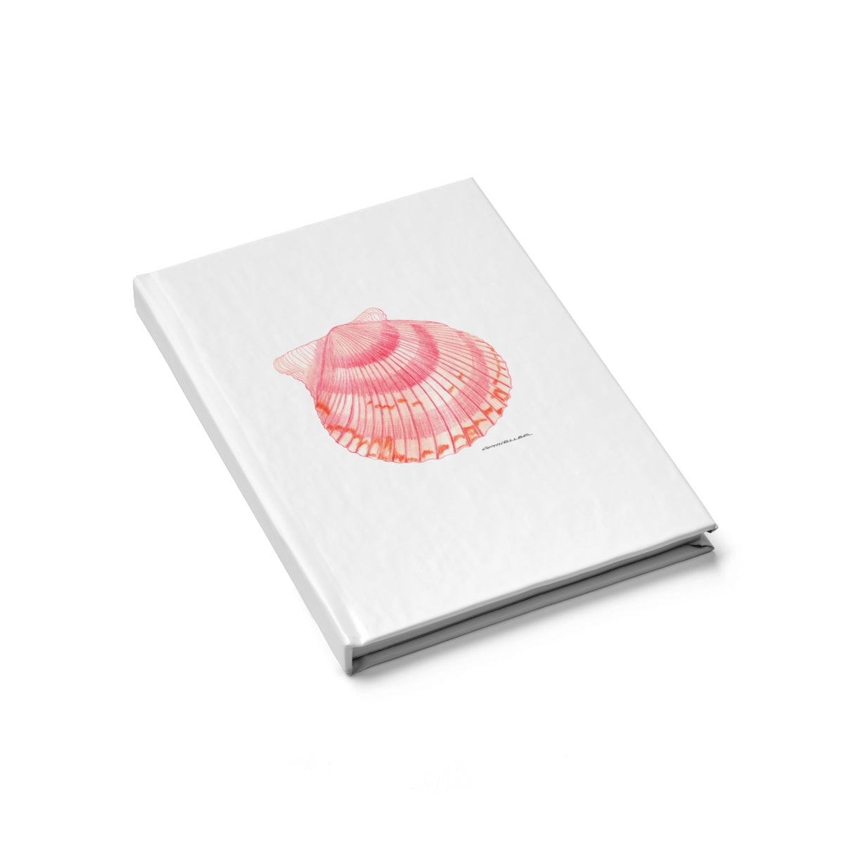 Journal - Scallop Shell - Falling Leaf Card Co.