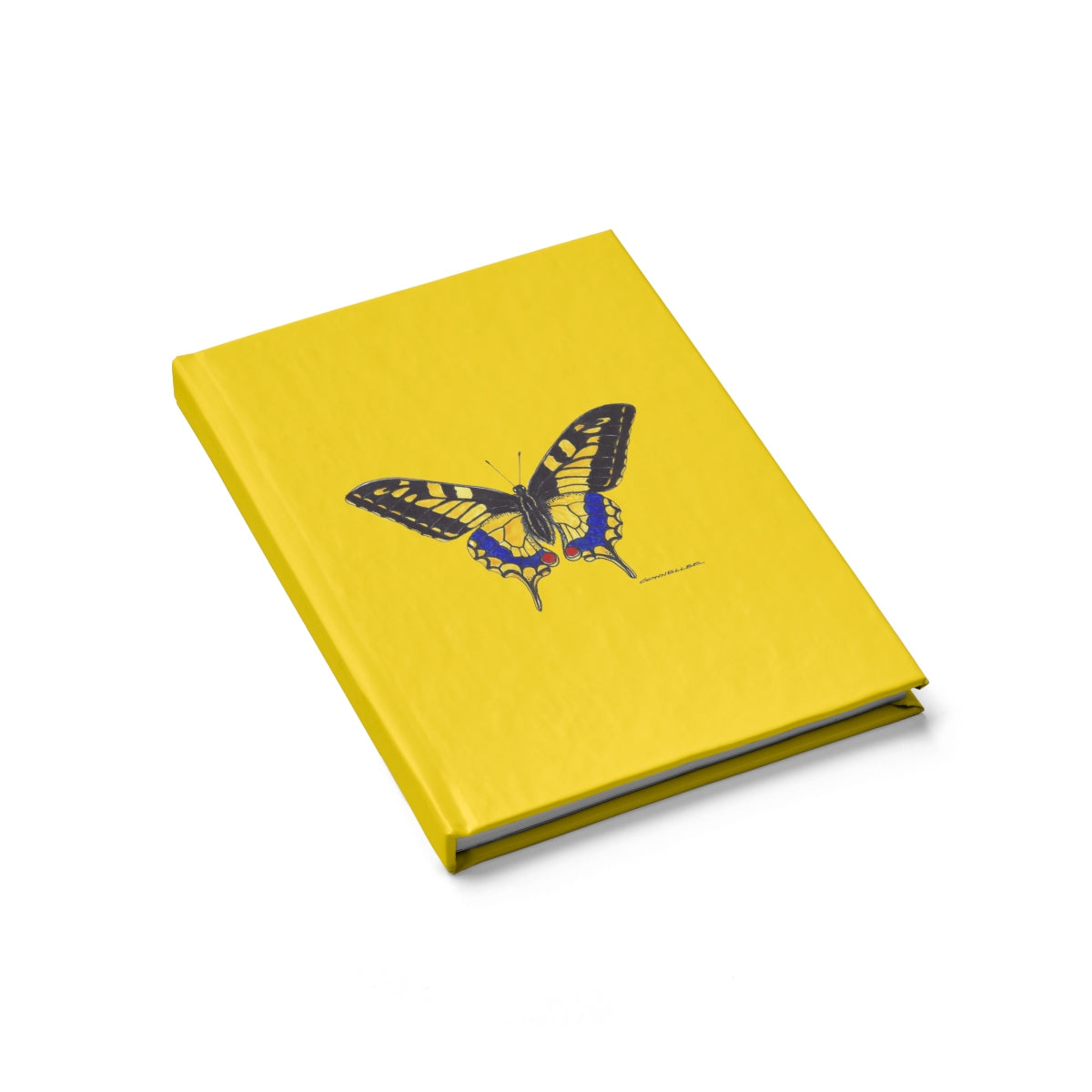 Journal - Yellow Butterfly - Yellow - Falling Leaf Card Co.