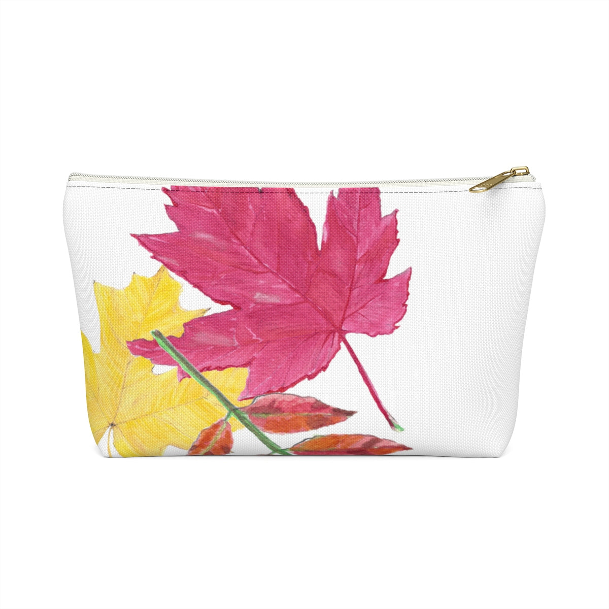 Fall Leaf Zipper Pouch - Falling Leaf Card Co.