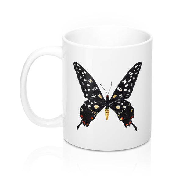 Coffee Mug - Giant Madagascar Butterfly - Falling Leaf Card Co.