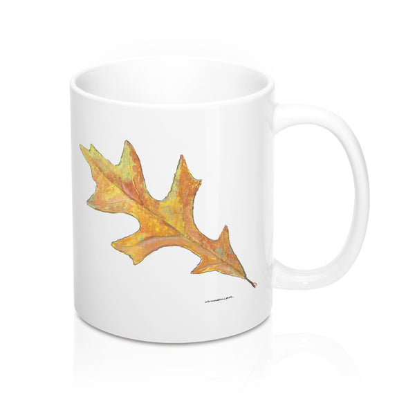Coffee Mug - Oak Leaf - Falling Leaf Card Co.