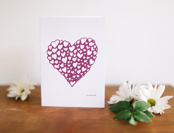 Heart of Hearts Valentine's Day Card