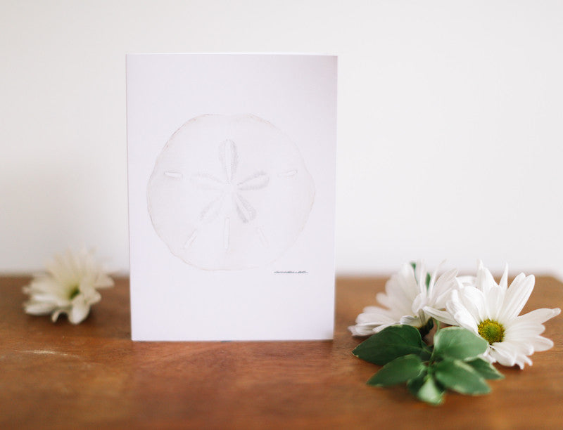 Sand Dollar Father's Day Card