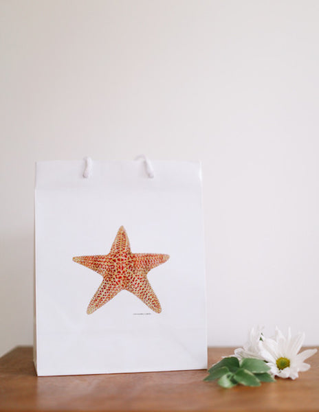 Starfish Gift Bag - Falling Leaf Card Co.