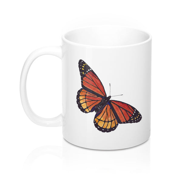 Coffee Mug - Monarch Butterfly - Falling Leaf Card Co.