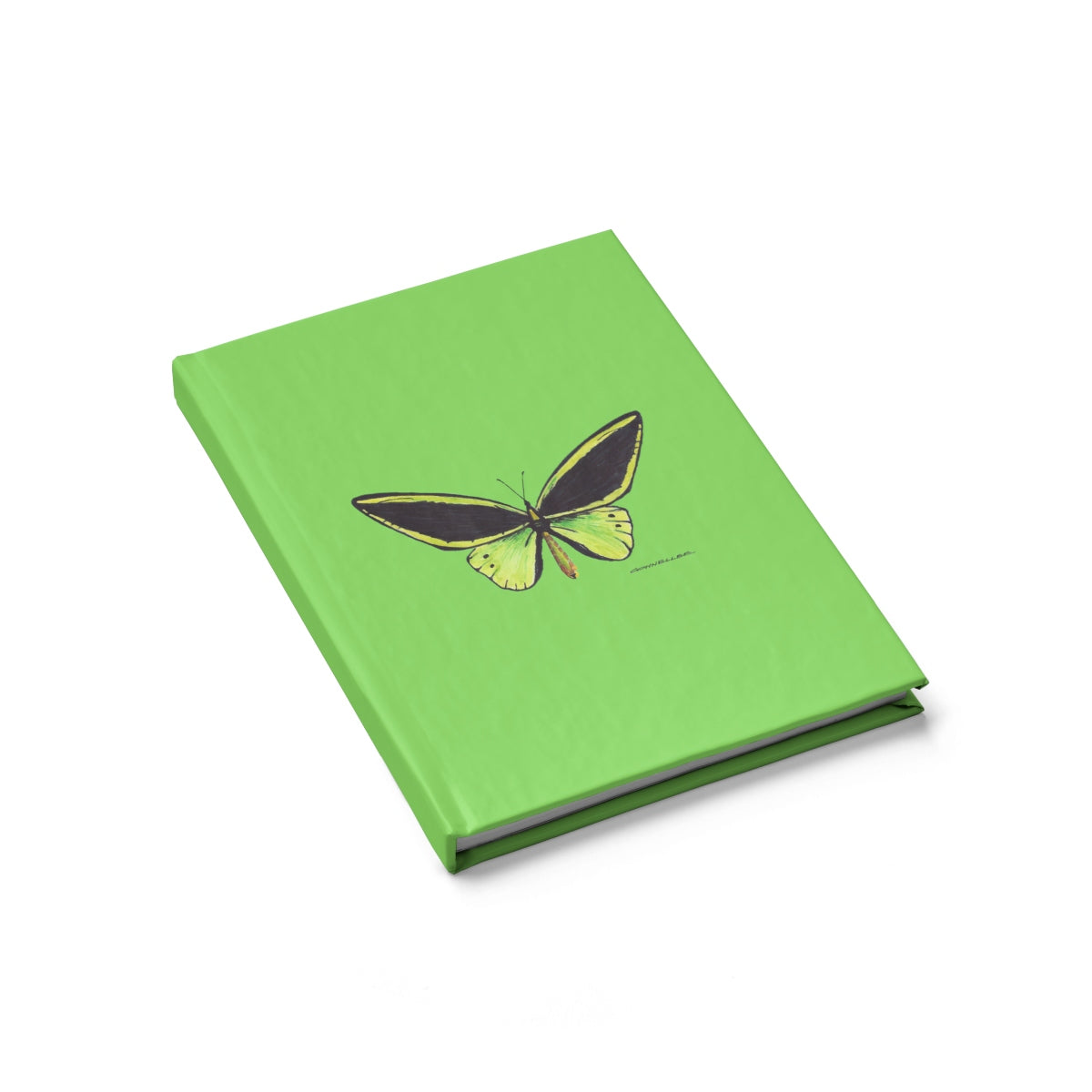 Journal - Green Butterfly - Green - Falling Leaf Card Co.