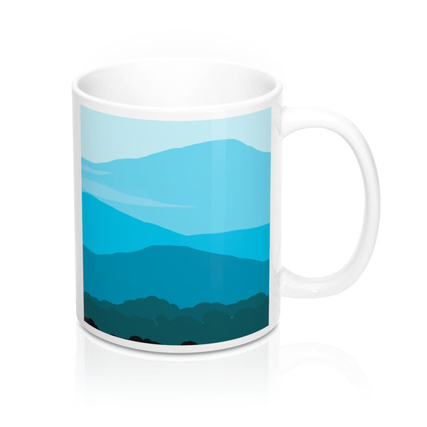 Mug - Blue Ridge Mountain - Falling Leaf Card Co.
