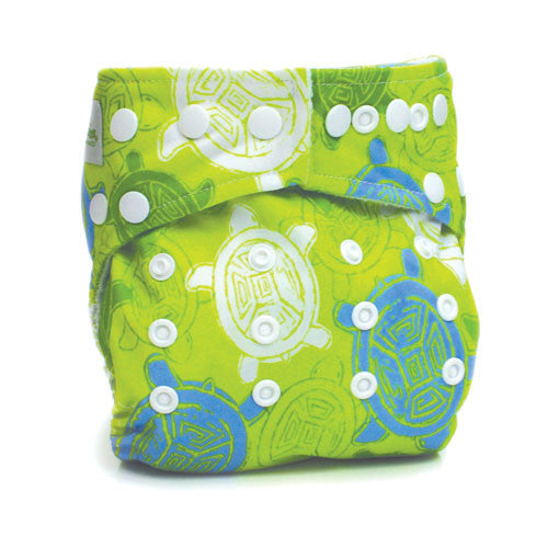 TurtleDiapers.com: Bumkins Stuff-it One Size Cloth Diaper - Turtle - Bumkins