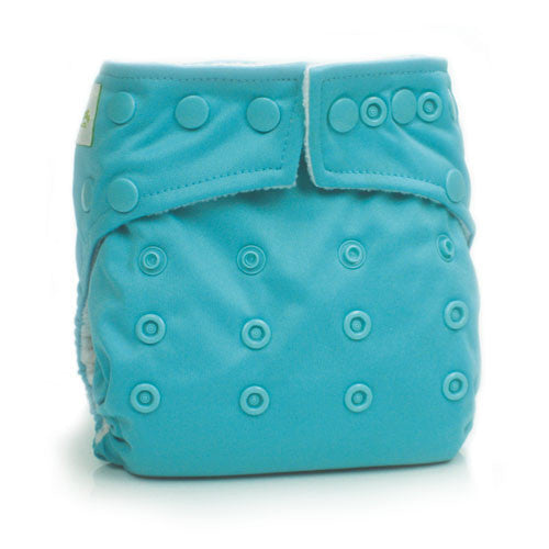 TurtleDiapers.com: Bumkins Stuff-it One Size Cloth Diaper - Blue - Bumkins