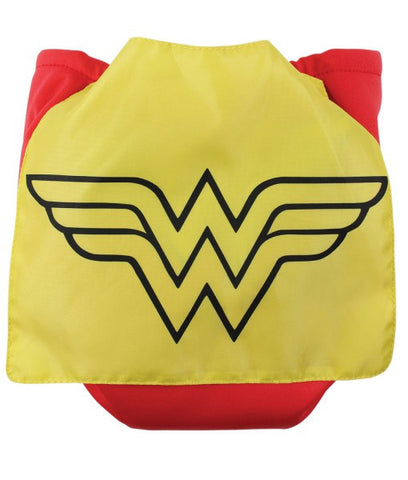 TurtleDiapers.com: Bumkins DC Comics Snap in One Cloth Diaper with Cape - WonderWoman - Bumkins