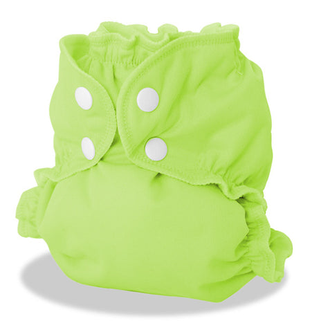 TurtleDiapers.com: AppleCheeks Envelope Diaper Cover Size 2 - Appletini - AppleCheeks