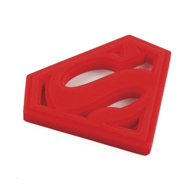 Bumkins DC Comics Silicone Teether - Superman