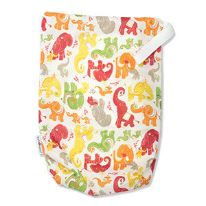 TurtleDiapers.com: AppleCheeks Zippered Storage Sack Size One - Parade - AppleCheeks