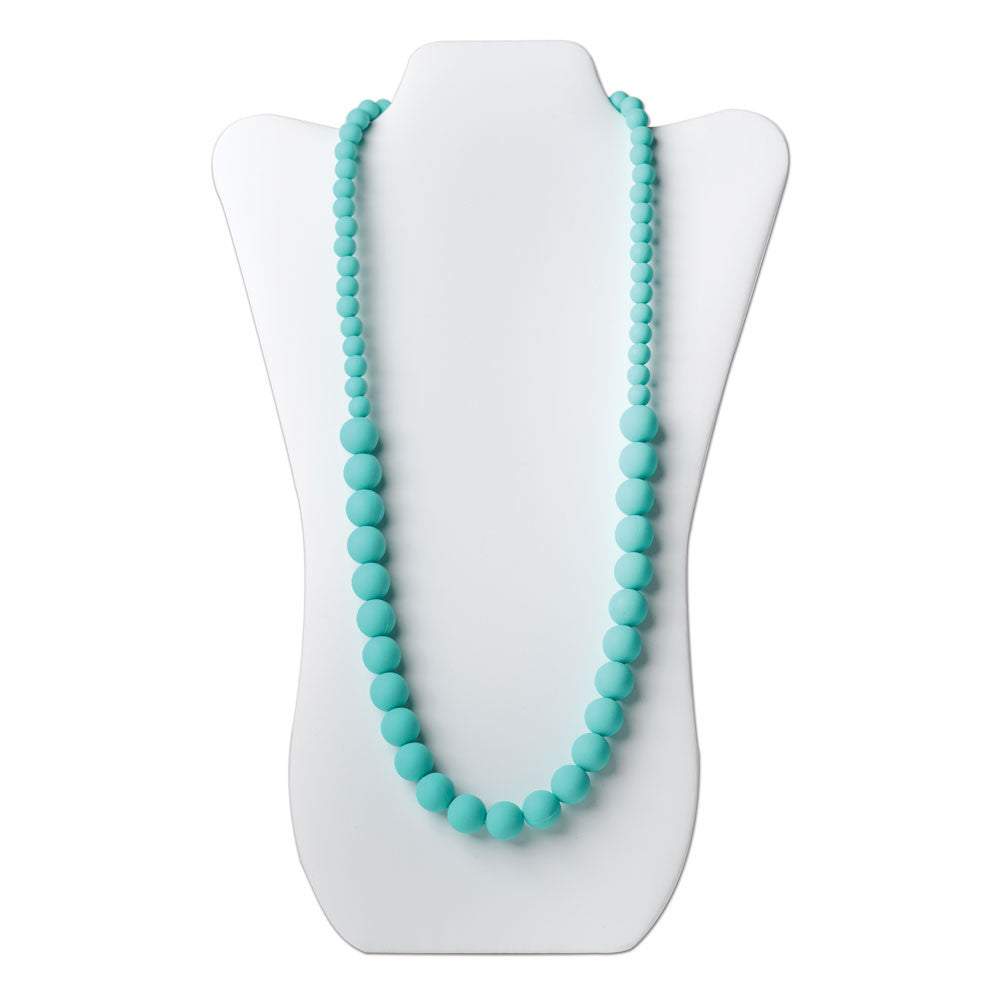 Nixi Ciclo Silicone Teething Necklace - Turquoise