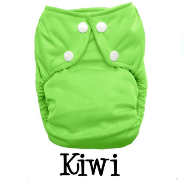Bottombumpers Size 1 Front Snap Cloth Diaper - Kiwi