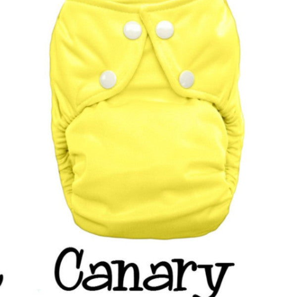 Bottombumpers One Size Snap Cloth Diaper - Canary
