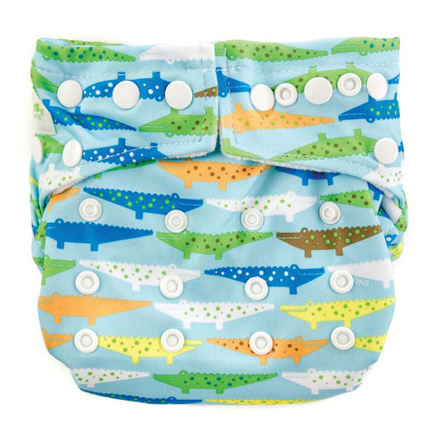 TurtleDiapers.com: Bumkins Snap in One Cloth Diaper - Crocs - Bumkins