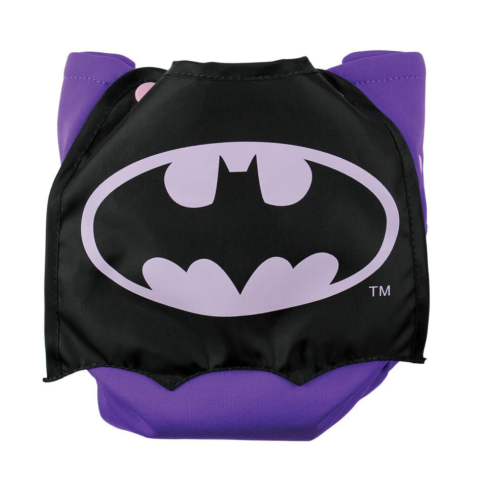TurtleDiapers.com: Bumkins DC Comics Snap in One Cloth Diaper with Cape - BatGirl - Bumkins