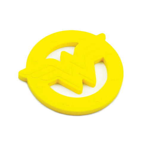 TurtleDiapers.com: Bumkins DC Comics Silicone Teether - WonderWoman - Bumkins