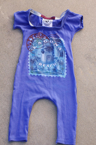 TurtleDiapers.com: Upcycled Kids Laguna Beach Romper - Up-Cycled Kids
