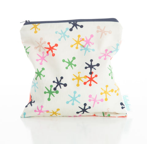 Luludew Water Resistant Wipe Bag - Jacks