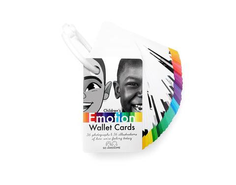 Children's Emotion Wallet Cards
