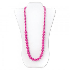 TurtleDiapers.com: Nixi Ciclo Silicone Teething Necklace - Pink - Nixi