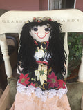 """Crystal"" Our Christmas doll -  -  - http://www.dollsbybertrand.com/store  - 1"