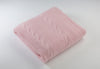 Pink Cashmere Throw Blanket