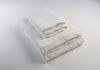 Fresh White Linen Sheet Set
