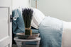 Soft Washed Linen Flat Sheets - Blue