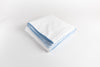 Cotton Percale Duvet Cover - Soothing Blue