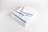 Cotton Percale Sheet Set - Soothing Blue