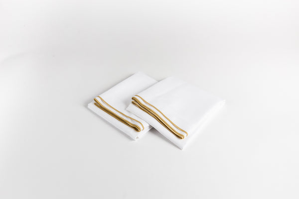 Cotton Sateen Pillowcases - Golden Bronze