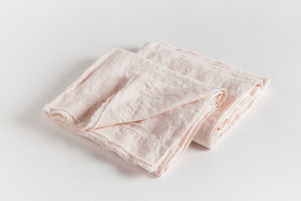 Soft Washed Pink Pillowcase